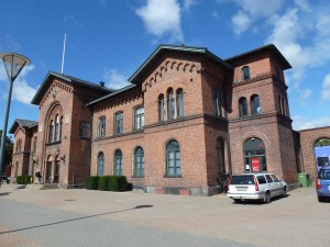 Wallanders Polizeipräsidium - eigentlich der Bahnhof von Ystad