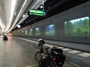 Im Bahnhof in Malmö